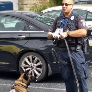 Splashwire Raises Money for local K-9 Unit